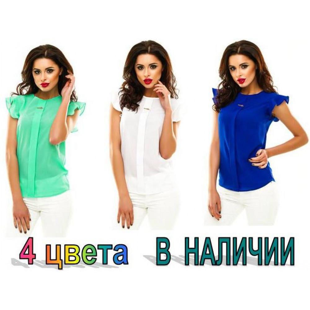 "Блузка ""Сьюзи"" - КРЕП-ШИФОН код: 422"
