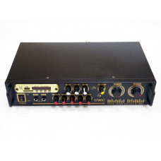 Усилитель звука UKC AV-106BT USB + КАРАОКЕ 2микрофона