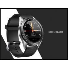 Умные часы Smartwatch GT105 IP67 водонепроницаемый с мониторингом сердечного ритма IOS Android  черные