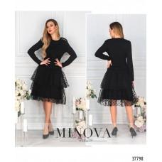Женское нарядное  платье Р. 42,44,46,48 -чёрный