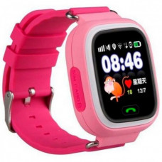 Детские смарт часы с трекером Smart Q100 Розовый (красный)