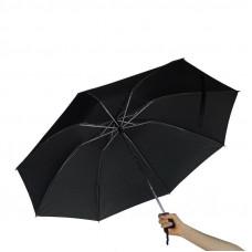 Складной зонт автоматический Supretto Черный (5264)