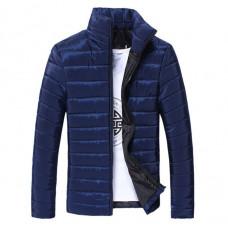 Стильная мужская куртка весна-осень   Hb10707a  Размер  L, XL  темно-синий