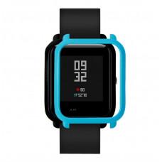 Накладка бампер для часов Xiaomi Amazfit Bip Голубая (1010508)