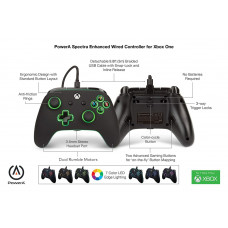 Джойстик проводной  с подсветкой для Xbox One, X и Xbox One S - Xbox One