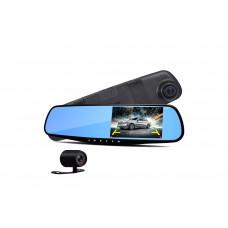 Видеорегистратор-зеркало DVR MOD L-708 с двумя камерами (101005323)