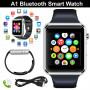 Умные часы Smart Watch A1 синие  Sim карта + камера