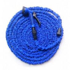 Усиленный садовый шланг для полива Xhose 30 м с распылителем Синий (258485)