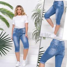 Шорты джинсовые женские БАТАЛ VANVER 8265. Размер 31-34,36,38