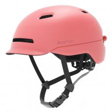 Шлем розовый Xiaomi Smart4u City Light Ride Smart Flash Helmet Pink