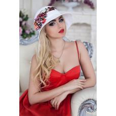 Шляпа «Сюзет» (ярко-малиновый) Braxton