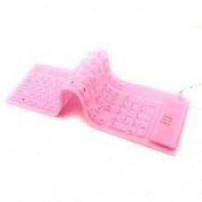 Гибкая Клавиатура 47004 Pink