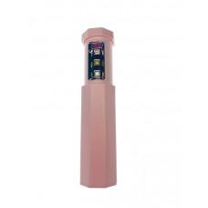 Портативный карманный телескопический стерилизатор UV UVС Розовый