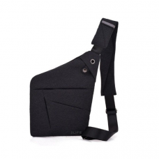 Сумка через плечо мужская 2Life Crossbody Темно-серый (n-100)