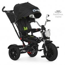 Велосипед детский трехколесный черный