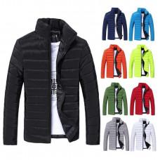 Стильная мужская куртка весна - осень   Hb10707a  Размер  L, XL синия и зеленая