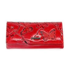 Женский кошелек натуральная кожа Cavaldi Польша (красный)