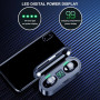 Беспроводные наушники F9 LED  TWS  водонепроницаемые  мини Bluetooth