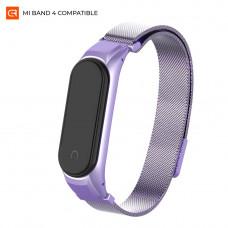 Ремешок Armorstandart Milanese Magnetic Band для Xiaomi Mi Band 4 Violet (ARM55179)