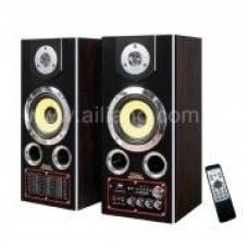 Акустическая система USB FM-8100-3 CR 5'' Bluetooth