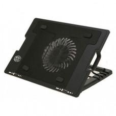 Подставка-кулер для ноутбука Ergostand с охлаждением Черный (258723)