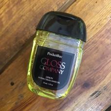 Средство для дезинфекции рук Gloss Lemon Санитайзер 29 мл (city8.1)