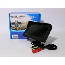 "Авто Дисплей LCD 4.3"""" для двух камер 043"