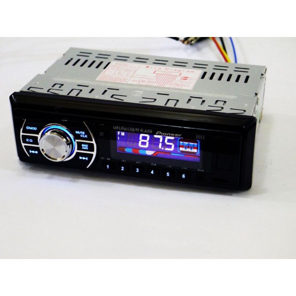 Автомагнитола 2053 ISO, SD, USB, AUX