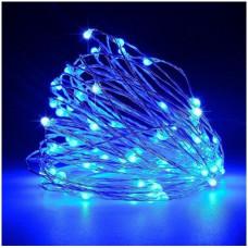 Светодиодная гирлянда нить LTL 4.5 м 50led Blue (4.5м50lb)