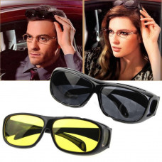 Солнцезащитные Антибликовые очки  для водителя автомобиля HD Vision Wrap