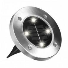 Уличный светильник садовый на солнечной батарее Solar Disk Lights 5050 (008668)