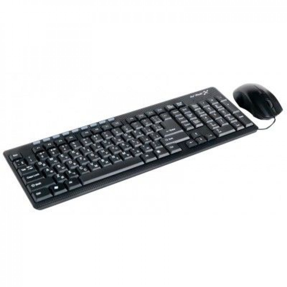 Набор клавиатура+мышь HI-RALI KB2017CM black USB