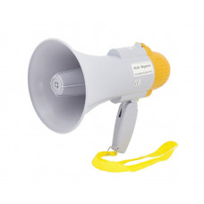 Мегафон рупор громкоговоритель Спартак RD-8S дальность 200 м White (001196)