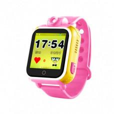 Детские часы с GPS Smart Baby Watch Q200 Розовые (tdx0000288)