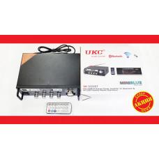 Усилитель звука UKC SN-555BT FM USB Блютуз + Караоке