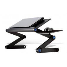 Столик-трансформер с вентилятором для ноутбука до 19 Черный (AC-5808-1)