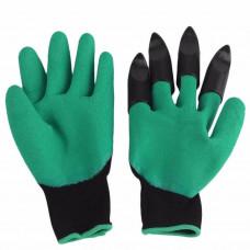 Садовые перчатки Supretto Garden Genie Gloves Зеленый (4670)