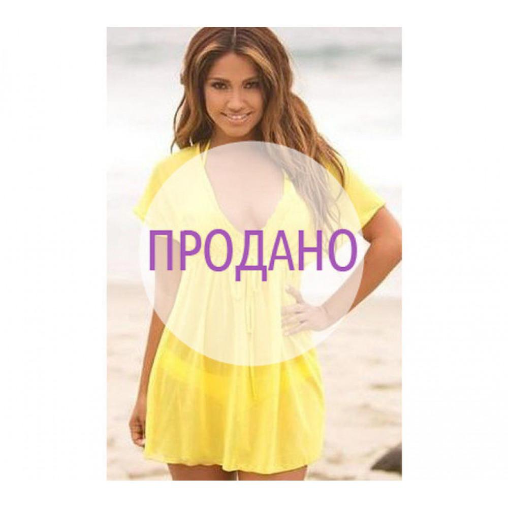 Пляжная туника сеточка (под грудь). Продано