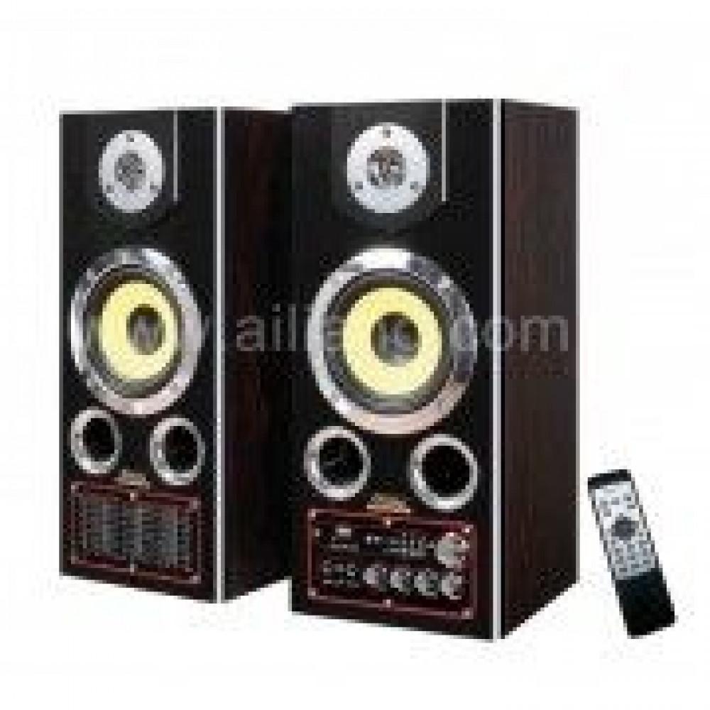 Акустическая система Ailiang USBFM-8100 CR 5' Bluetooth