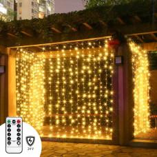 Светодиодная гирлянда Light Technology Limited штора 3х3 м 300 led (0033)