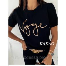 Женская футболка Voyage, качественная, стильная