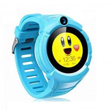 Детские часы с GPS-трекером Smart Baby Watch T10 синие   c Камерой и фонариком