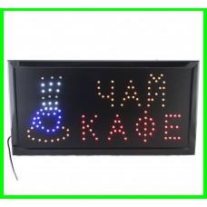 Светодиодная Вывеска LED  ( КАФЕ  ЧАЙ )