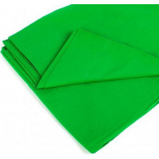 Фон тканевый зеленый для фотостудии 1х1.1 м Chromakey (uff12)