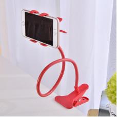 Гибкий Холдер штатив для телефона ALISTOR V90  Красный  80см