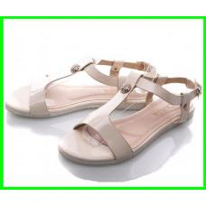 Женские Сандалии Босоножки CANOA Бежевые Летняя Обувь (размеры: 37,38,39)