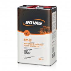 Масло моторное Rovas 5W-30 4л (1100530)