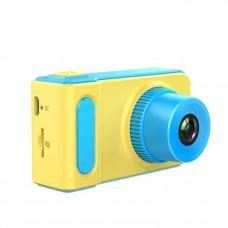 Фотоаппарат детский HLV Photo Camera Kids V7 5369 Желто-голубой (010574)