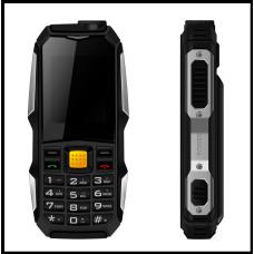 Защищенный Мобильный телефон F88 чёрный Аккумулятор 3800mA! Водоустойчив, на английском