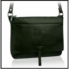 Кожаная сумка-мессенджер Betlewski, маленькая код 451 зелёная